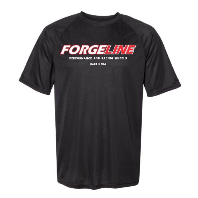 Forgeline Made In The USA Raglan Sleeve Wicking Tee