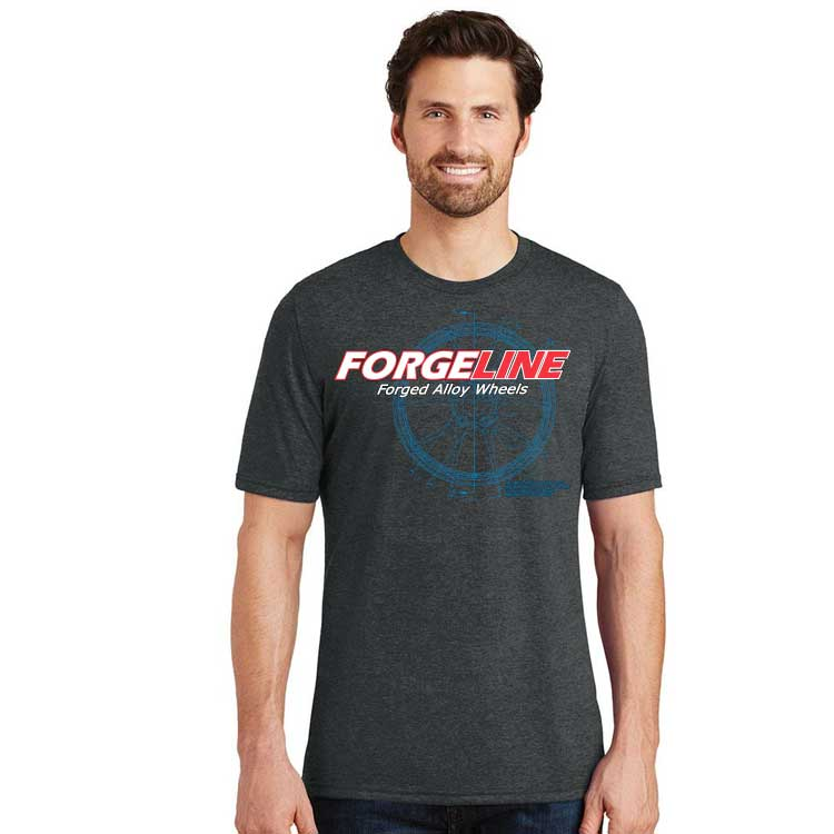 Forgeline CAD Mens Perfect Tri Crew Tee
