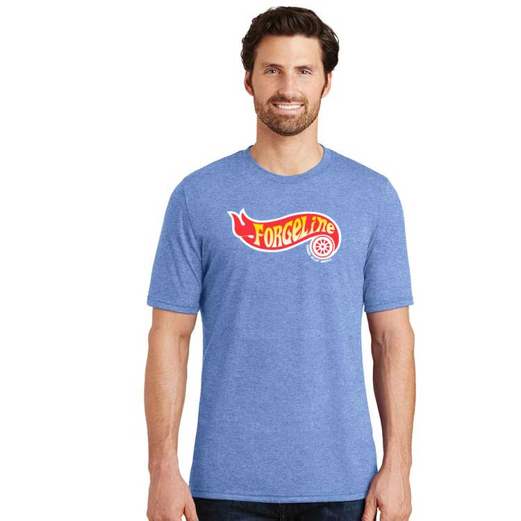 Forgeline Flame Logo Mens Perfect Tri Crew Tee