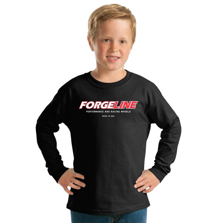 Forgeline Made In The USA Youth Unisex Ultra Cotton Long Sleeve Tee